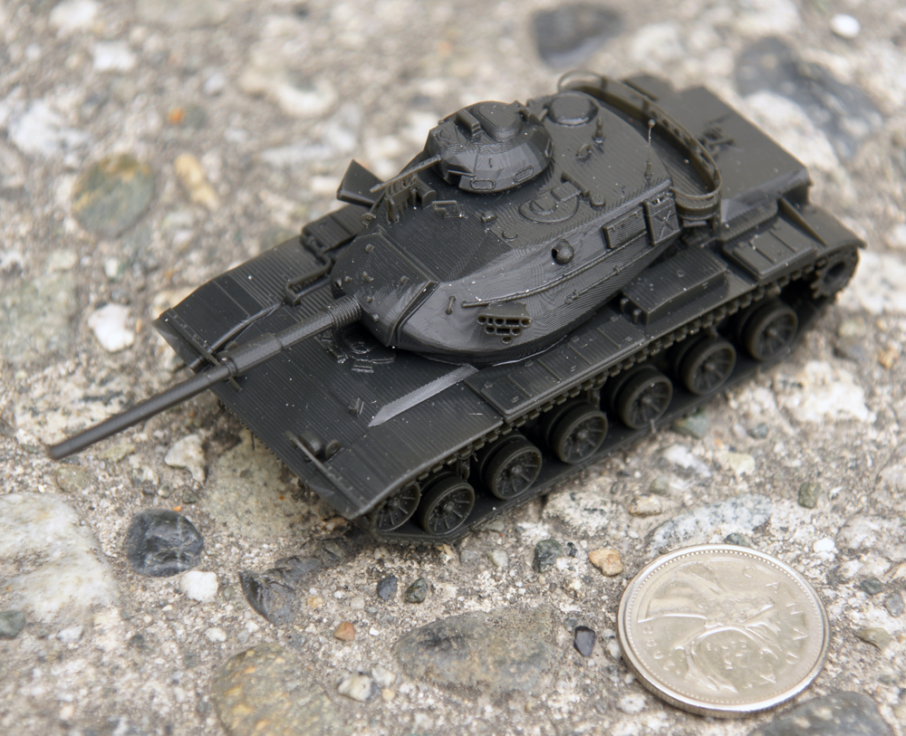 M60-A3 tank