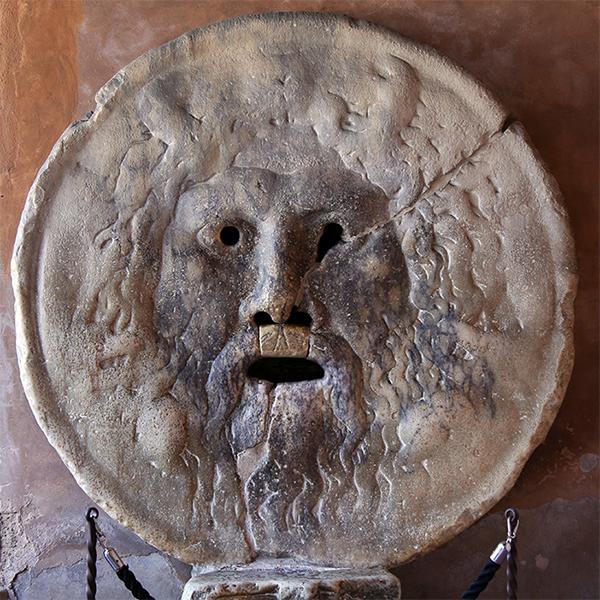 """""""Bocca Della Verita"""" original in Rom"""